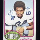 1976 Topps Football #447 Jean Fugett RC - Dallas Cowboys