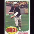 1976 Topps Football #415 Ken Stabler - Oakland Raiders