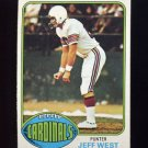 1976 Topps Football #363 Jeff West - St. Louis Cardinals