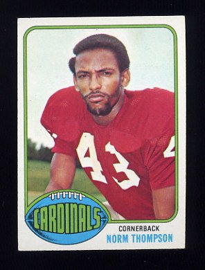 1976 Topps Football #238 Norm Thompson - St. Louis Cardinals