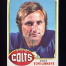 1976 Topps Football #209 Toni Linhart - Baltimore Colts
