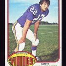 1976 Topps Football #065 Paul Krause - Minnesota Vikings NM-M