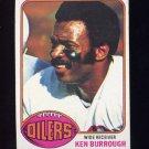 1976 Topps Football #505 Ken Burrough - Houston Oilers