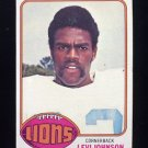 1976 Topps Football #433 Levi Johnson - Detroit Lions
