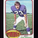 1976 Topps Football #211 Jeff Wright RC - Minnesota Vikings