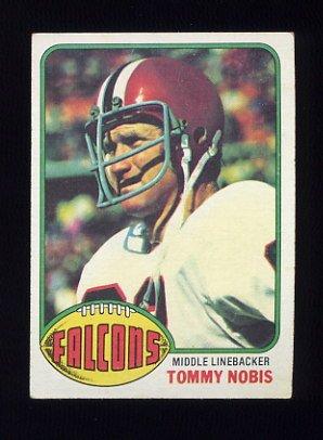 1976 Topps Football #069 Tommy Nobis - Atlanta Falcons