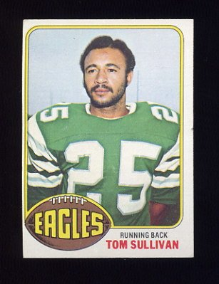 1976 Topps Football #039 Tom Sullivan - Philadelphia Eagles