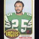 1976 Topps Football #039 Tom Sullivan - Philadelphia Eagles