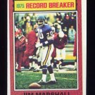 1976 Topps Football #004 Jim Marshall RB - Minnesota Vikings ExMt
