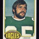 1976 Topps Football #481 John Bunting RC - Philadelphia Eagles