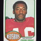 1976 Topps Football #151 Frank Grant - Washington Redskins