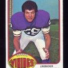 1976 Topps Football #084 Wally Hilgenberg - Minnesota Vikings
