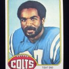 1976 Topps Football #032 Raymond Chester - Baltimore Colts