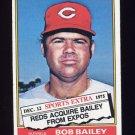 1976 Topps Traded Baseball #338T Bob Bailey - Cincinnati Reds ExMt