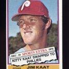 1976 Topps Traded Baseball #080T Jim Kaat - Philadelphia Phillies