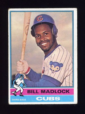 1976 Topps Baseball #640 Bill Madlock - Chicago Cubs