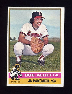 1976 Topps Baseball #623 Bob Allietta RC - California Angels ExMt