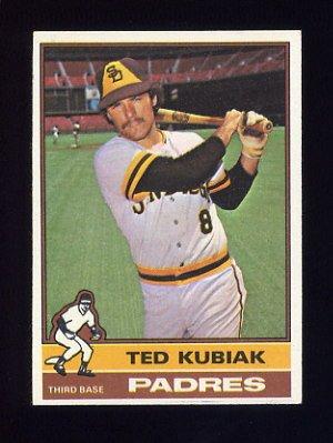 1976 Topps Baseball #578 Ted Kubiak - San Diego Padres