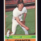 1976 Topps Baseball #553 Randy Moffitt - San Francisco Giants