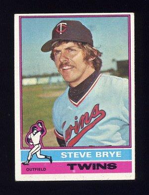 1976 Topps Baseball #519 Steve Brye - Minnesota Twins