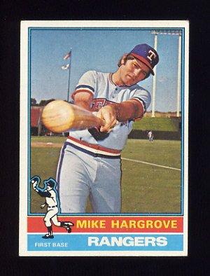 1976 Topps Baseball #485 Mike Hargrove - Texas Rangers
