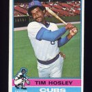 1976 Topps Baseball #482 Tim Hosley - Chicago Cubs