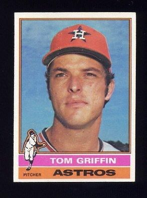 1976 Topps Baseball #454 Tom Griffin - Houston Astros