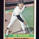 1976 Topps Baseball #423 Ed Halicki - San Francisco Giants