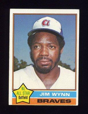 1976 Topps Baseball #395 Jim Wynn - Atlanta Braves