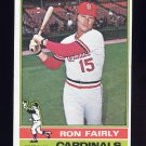 1976 Topps Baseball #375 Ron Fairly - St. Louis Cardinals
