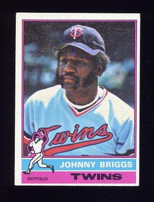 1976 Topps Baseball #373 Johnny Briggs - Minnesota Twins