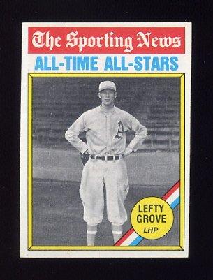 1976 Topps Baseball #350 Lefty Grove ATG - Boston Red Sox