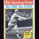 1976 Topps Baseball #344 Honus Wagner ATG - Pittsburgh Pirates NM-M