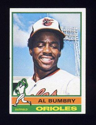 1976 Topps Baseball #307 Al Bumbry - Baltimore Orioles