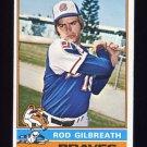 1976 Topps Baseball #306 Rod Gilbreath - Atlanta Braves