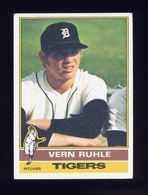 1976 Topps Baseball #089 Vern Ruhle - Detroit Tigers
