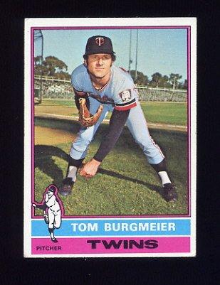 1976 Topps Baseball #087 Tom Burgmeier - Minnesota Twins