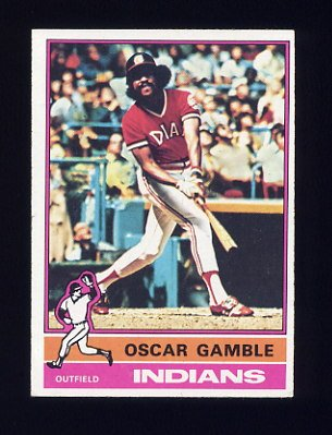 1976 Topps Baseball #074 Oscar Gamble - Cleveland Indians