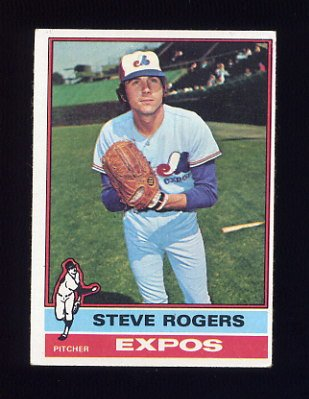 1976 Topps Baseball #071 Steve Rogers - Montreal Expos