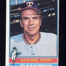 1976 Topps Baseball #055 Gaylord Perry - Texas Rangers