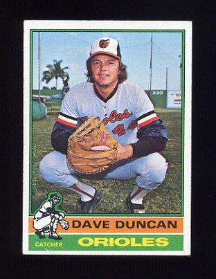 1976 Topps Baseball #049 Dave Duncan - Baltimore Orioles ExMt