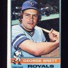 1976 Topps Baseball #019 George Brett - Kansas City Royals