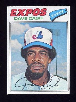 1977 Topps Baseball #649 Dave Cash - Montreal Expos