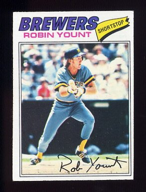 1977 Topps Baseball #635 Robin Yount - Milwaukee Brewers NM-M