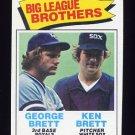 1977 Topps Baseball #631 Brett Brothers NM-M