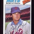1977 Topps Baseball #627 Bob Myrick RC - New York Mets