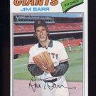 1977 Topps Baseball #609 Jim Barr - San Francisco Giants