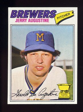 1977 Topps Baseball #577 Jerry Augustine RC - Milwaukee Brewers