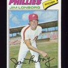 1977 Topps Baseball #569 Jim Lonborg - Philadelphia Phillies