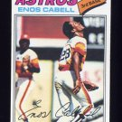 1977 Topps Baseball #567 Enos Cabell - Houston Astros